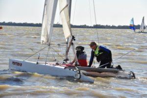 Sailing lake Cargelligo