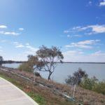 Scenic Walk Around The Lake