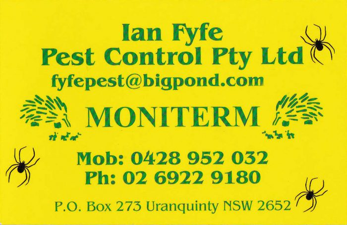 Ian Fyfe Pest Control Pty Ltd
