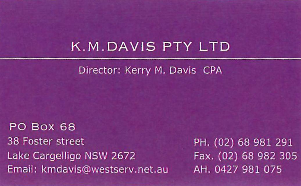 K M Davis Pty Ltd
